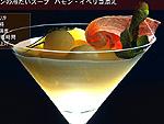 メロンの冷たいスープ ハモン・イベリコ添え 料理レシピ