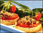 イベリコ豚サルチチョンのミニ・ピザ