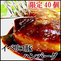 イベリコ豚100%ハンバーグ 4個