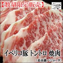 イベリコ豚トントロ焼肉