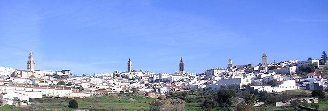 スペイン町並み(バダホス)