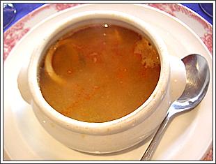 ソパ デ マリスマス(魚介のスープ)
