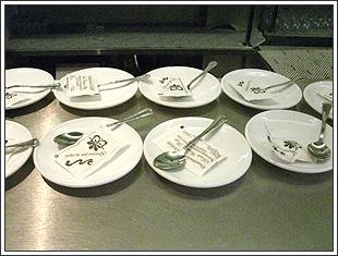 スペインのカフェ店内