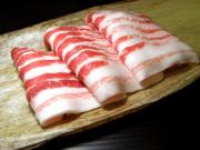 イベリコ豚バラすき焼き