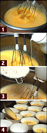 イベリコ豚サルチチョンとチーズのマドレーヌ料理レシピ