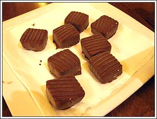 スペインのチョコレートアイス